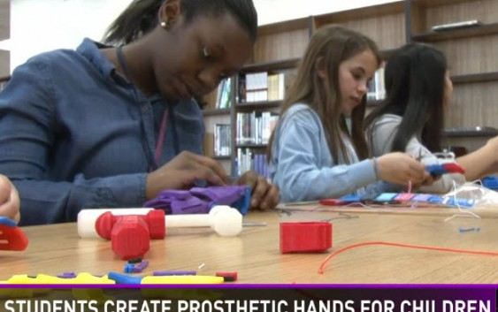 Sumter Students Use 3D Printer to Create Prosthetic Hands